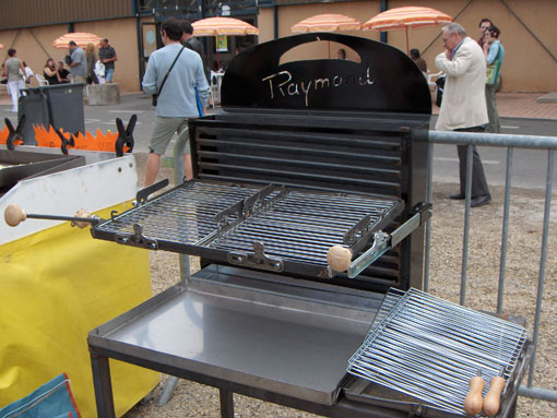 Barbuec de raymond gr700 - Barbecue vertical gaz ...
